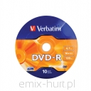VERBATIM DVD-R 4,7GB (pack 10szt.)